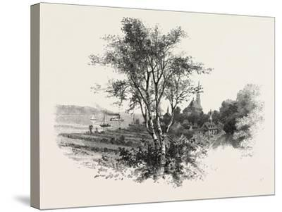 French Canadian Life, Chateau Richer, Canada, Nineteenth Century--Stretched Canvas Print