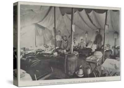 The Portland Hospital, Rondebosch, No 9 Ward, Two of the Wounded in This Ward are Australians--Stretched Canvas Print