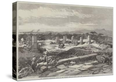 The Abyssinian Expedition, Ruins of the Ancient City of Adulis, Near the Landing-Place at Zulla--Stretched Canvas Print