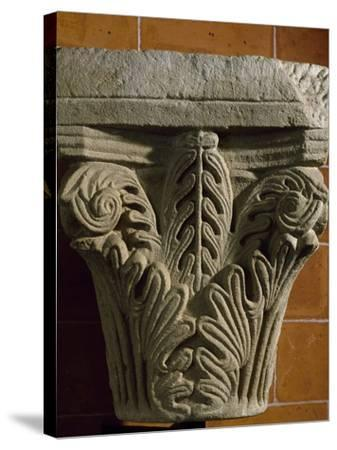 Capital, Early Medieval Reworking or Corinthian Type Romanesque, Italy, 5th-11th Century--Stretched Canvas Print