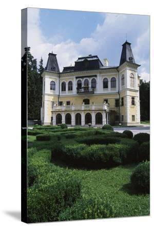 Betliar Manor House, Originally from 15th Century and Renovated in 19th Century, Slovakia--Stretched Canvas Print