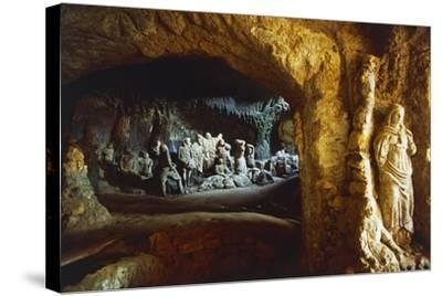 Sculptures in Church of Piedigrotta, 18th-19th Century, Pizzo Calabro, Calabria, Italy--Stretched Canvas Print
