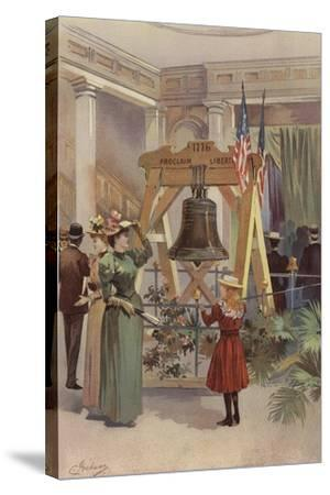 Old Liberty Bell--Stretched Canvas Print