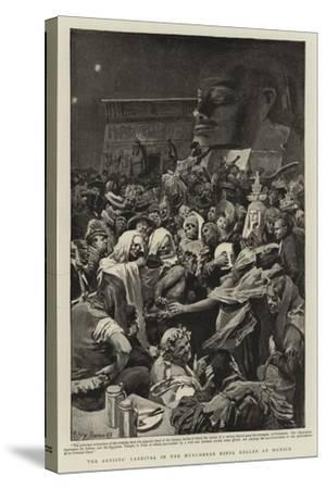 The Artists' Carnival in the Munchener Kindl Keller at Munich--Stretched Canvas Print