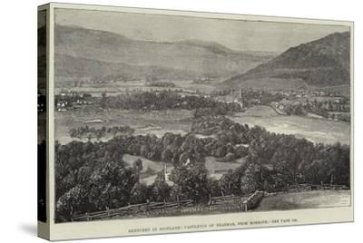 Sketches in Scotland, Castleton of Braemar, from Morrone--Stretched Canvas Print