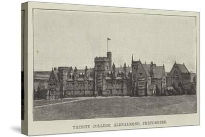 Trinity College, Glenalmond, Perthshire--Stretched Canvas Print
