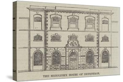 The Middlesex House of Detention--Stretched Canvas Print