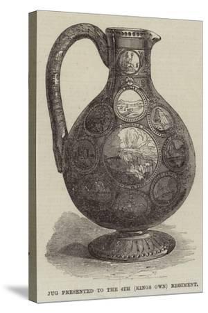 Abyssinian Trophy Claret-Jug--Stretched Canvas Print
