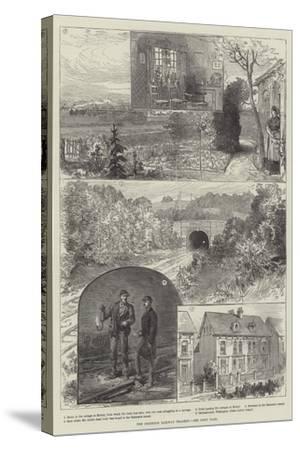 The Brighton Railway Tragedy--Stretched Canvas Print