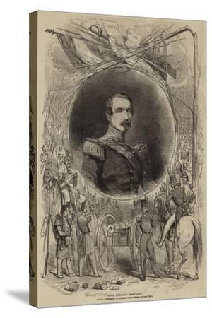 Louis Napoleon Bonaparte--Stretched Canvas Print