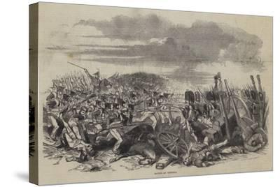 Battle of Vittoria--Stretched Canvas Print