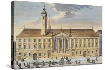 Austria, Vienna, Teutonic Order House and Church of St Elizabeth--Stretched Canvas Print