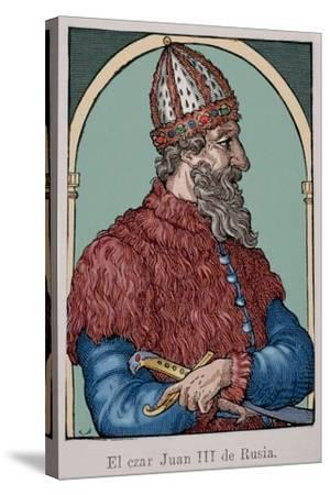 Ivan the Great (1440-1505)--Stretched Canvas Print