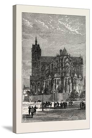 The Cathedral, Le Mans, France, 1871--Stretched Canvas Print