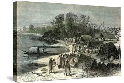 L'Isle Santa-Rosa 1869, Peru--Stretched Canvas Print