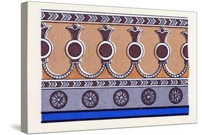 Assyrian and Persian Ornament--Stretched Canvas Print