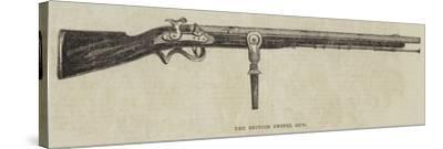 The British Swivel Gun--Stretched Canvas Print