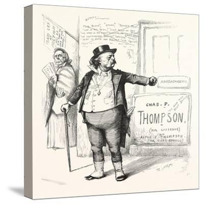 Toodles Ticket, 1880--Stretched Canvas Print
