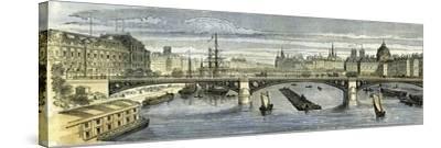 Paris 1864 France--Stretched Canvas Print