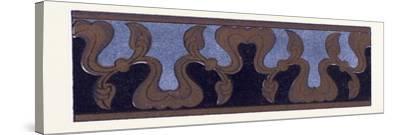 Turkish Ornament--Stretched Canvas Print