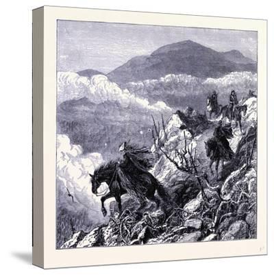 Mount Washington United States of America--Stretched Canvas Print