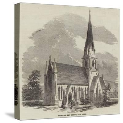 Meanwood New Church, Near Leeds--Stretched Canvas Print