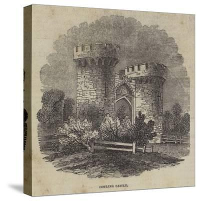 Cowling Castle--Stretched Canvas Print