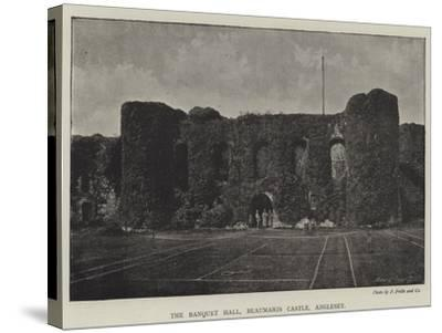 The Banquet Hall, Beaumaris Castle, Anglesey--Stretched Canvas Print