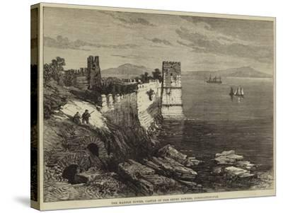 The Marble Tower, Castle of the Seven Towers, Constantinople--Stretched Canvas Print