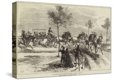 The Prince of Wales at Seville, Driving a Spanish Turn-Out--Stretched Canvas Print