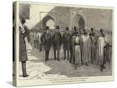 The Special Mission to the Court of Morocco--Stretched Canvas Print