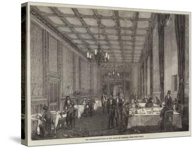 The Refreshment-Room at the House of Commons--Stretched Canvas Print
