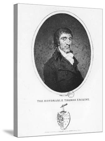 Thomas Erskine, 1st Baron Erskine--Stretched Canvas Print