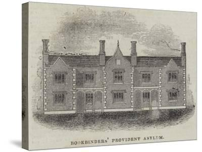 Bookbinders' Provident Asylum--Stretched Canvas Print
