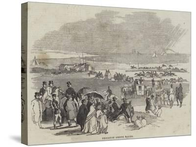Freiston Shore Races--Stretched Canvas Print