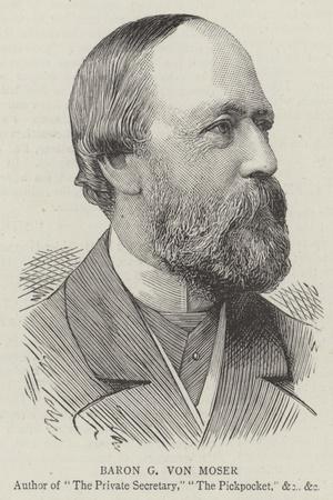 Baron G Von Moser--Stretched Canvas Print