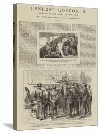 General Gordon--Stretched Canvas Print