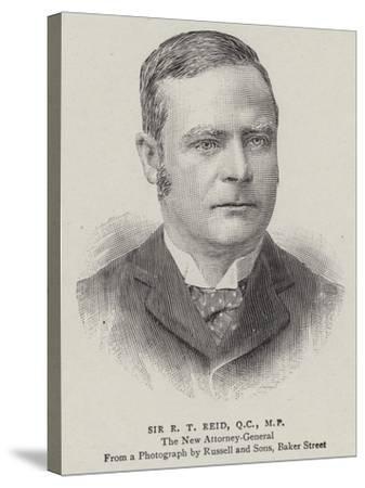 Sir R T Reid--Stretched Canvas Print