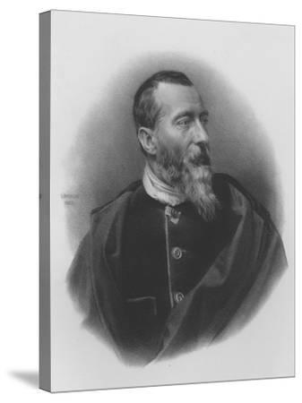 Jean-Baptiste-Alphonse Karr--Stretched Canvas Print