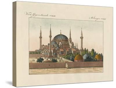 Saint-Sophia Cathedral in Constantinople--Stretched Canvas Print