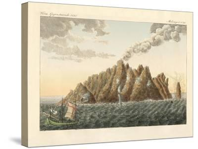 The Volcanic Island of Holy John the Theologian--Stretched Canvas Print