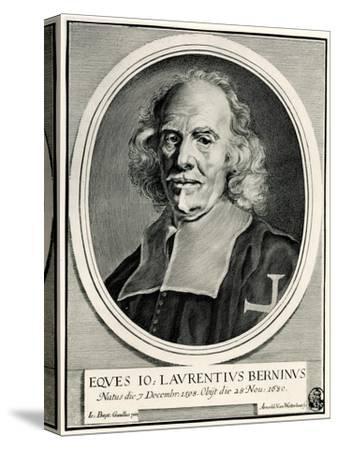 Lorenzo Bernini, 1884-90--Stretched Canvas Print