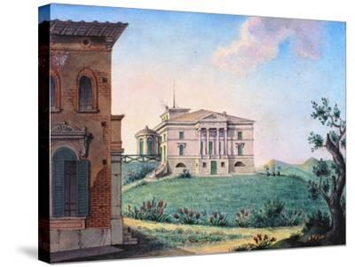 Belpoggio, Villa Baciocchi, Bologna--Stretched Canvas Print