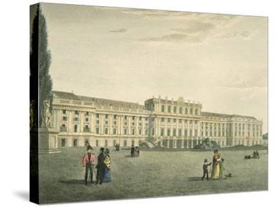 Austria, Vienna, Schonbrunn Castle, Habsburg Imperial Residence--Stretched Canvas Print