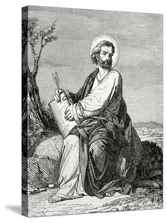 Mark the Evangelist--Stretched Canvas Print