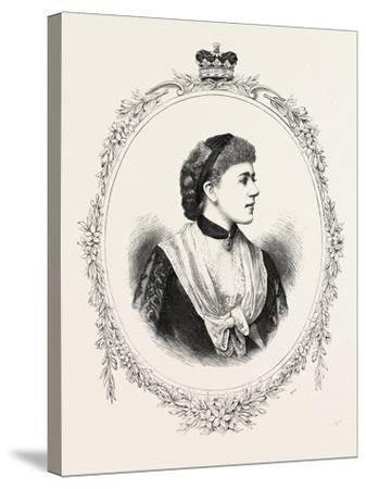 The Duchess of Westminster, 1882, UK--Stretched Canvas Print
