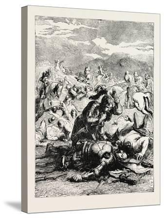 Battle of Otterbourne (Chevy Chase)--Stretched Canvas Print
