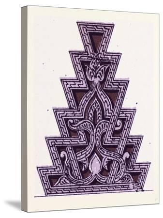 Arabian Ornament--Stretched Canvas Print
