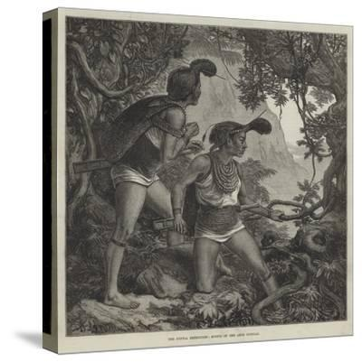 The Duffla Expedition, Scouts of the Abor Dufflas--Stretched Canvas Print