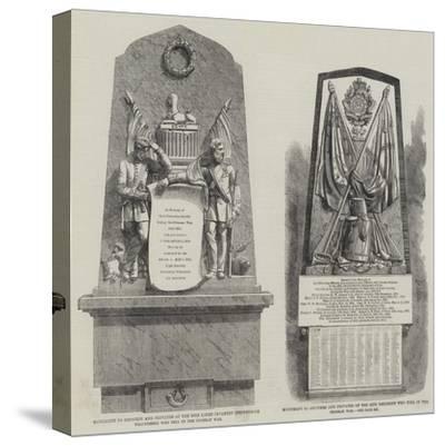 Crimean War Memorials--Stretched Canvas Print